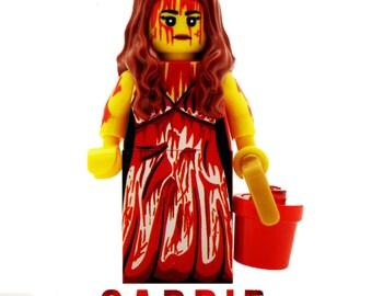 Carrie Lego Inspired Mini Figure Stephen King