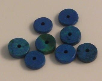 Haematite blue 8mm x 8 (20)
