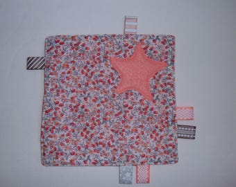 taggy square fabric pink
