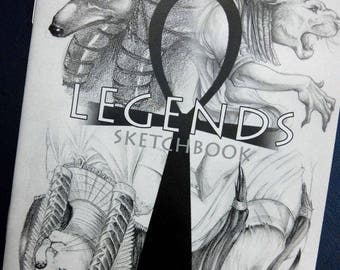 Sketchbook Legends - Artbook Legends sketchbook