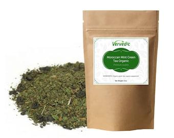 Moroccan Mint Green Tea Organic