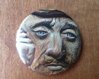 Van Gogh Button
