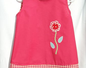 Pink spring dress was 3 years