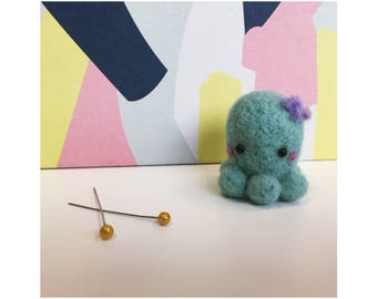 Little plush Octopus - Poulpea