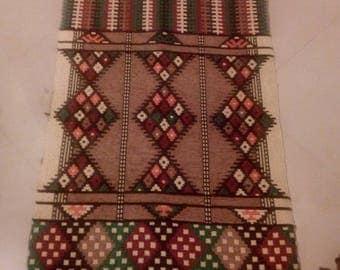 Handmade Egyptian Kilim runner rug , 64''X27'', 164 cm X 62 cm