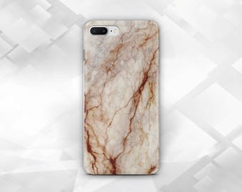 Marble Phone Case,iPhone Case,iPhone 6S,iPhone 7,iPhone 7 Plus,iPhone 5C,SE,5S & Touch 6,Samsung S8,S8 Plus,S7,Galaxy A3,A5,Brown Marble