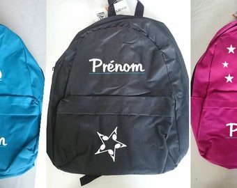 A4 size small backpack to personalized