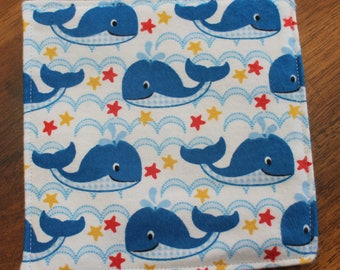 Baby Crinkle Paper - whale