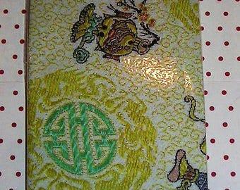 Bookmark pattern Chinese silk