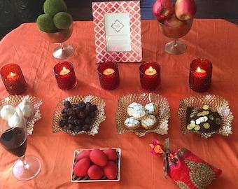 Persian New Year, Haftseen In A Box, Nowruz