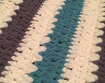Large Crocheted Blanket