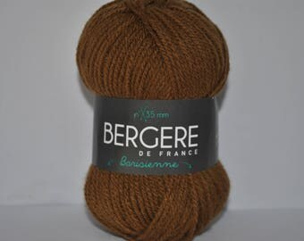 ball of yarn, barisienne Bergère de france color spice Brown copper 297.911 29791