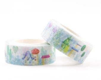 Lovely house washi tape