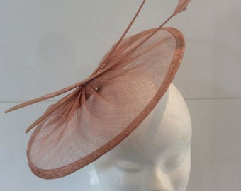 Fabia - Dark nude or dark pink beige Cap Hat