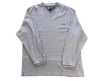 Vintage Chaps Ralph Lauren V Neck Sweatshirt