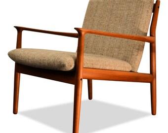 Vintage Grete Jalk Danish design Teak Armchair