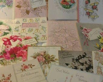 Vintage  Wedding  Anniversary  cards