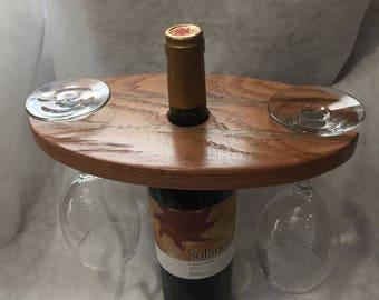 Solid Wood Wine Display
