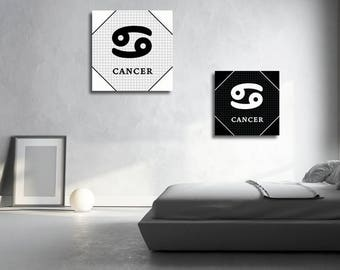 2 french cancer zodiac sign Astrology English instant download 5 X 5 8 X 8 10 X 10 12 X 12 15 X 15 16 X 16 18 X 18 20 X 20 30 X 30 50 X 50