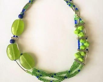 Dizzy with beads