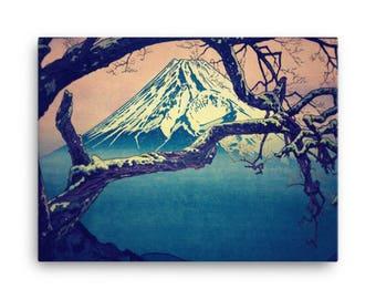 Pausing at Dojiro - Canvas Print