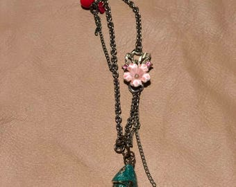 Koi and Blossom Necklace