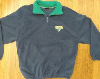Vintage XL 1997 NFL Miami Dolphins Sweater, Polyester