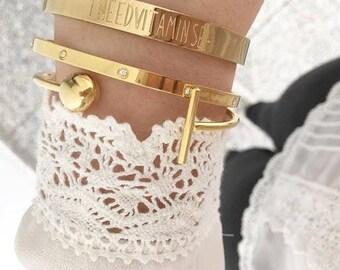 Stainless Steel Diamonds Bracelet