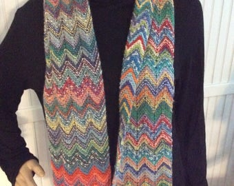 ZickZack Missoni-Style Scarf with 1000s of Colors