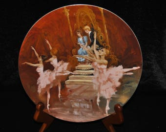 1980 Collectible Plate, The Waltz of the Flowers