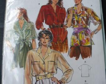 Pattern Safari shirt woman size 34 to 42 Burda super easy 5161