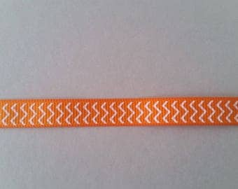 Gros Grain - Chevron - 10 mm Ribbon