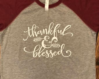 Childrens Thankful and Blessed