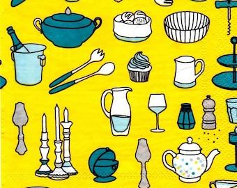 186 - napkin table art