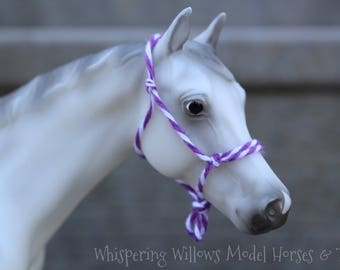 Classic Scale Model Horse Rope Halter