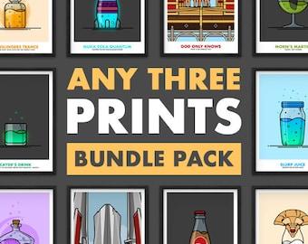 Bundle Pack - Any 3 Prints