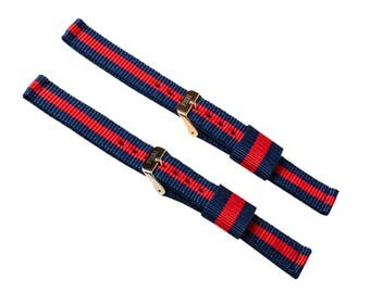 Nylon strap for watch with easychangeable strap option