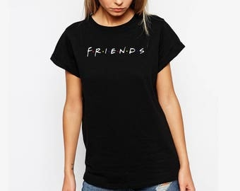 Friends TV Show Clothing Friends Tv Show Shirt Friends TV Show Tshirt Friends TV Show T-shirt Friends tv Show T Shirt S-2XL