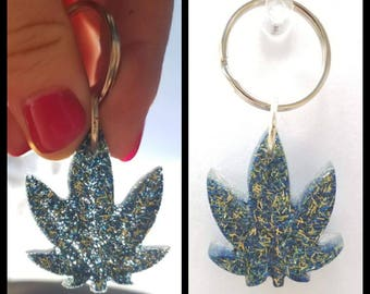 Blue for You Keychain