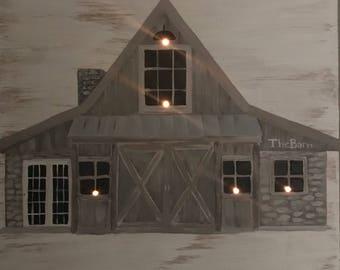 Custom LED Home Painting