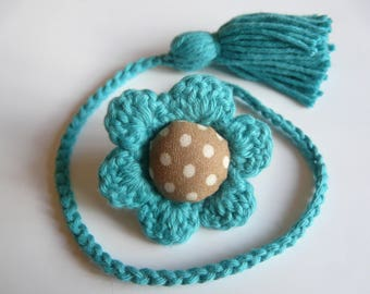 Bookmark crochet cotton thread.