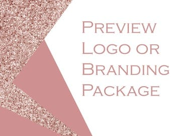 Logo / branding package preview