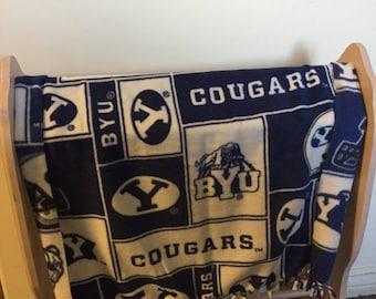 BYU recieving blanket