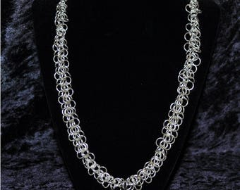 Sterling Silver Shaggy loop Necklace
