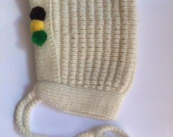 Vintage Baby Bonnet 60s -70s