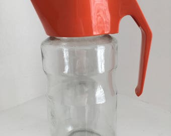 Funky Retro Vintage 1960s Jug, Pitcher