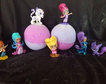 Shimmer  and shine  toy bath bomb