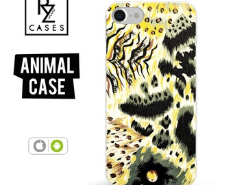 Wild Animal Skin Case, Animal Phone Case, iPhone 7 Case, Tiger Phone Case, Gift for Her, iPhone 7 Plus Case, iPhone 6S Case, Tiger Skin Case