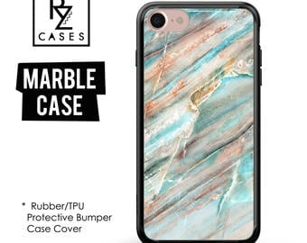 Marble Phone Case, Marble Case, Marble, Marble iPhone Case, iPhone 7 Case, iPhone 6 Case, iPhone 7 Plus Case, Rubber, Bumper Case