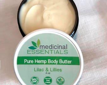 Lilac & Lillies Pure Hemp Body Butter